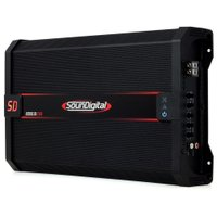 Módulo Amplificador Digital SounDigital SD8000.1D EVO 2 Black 1 Canal 8000 Watts RMS 1 Ohm