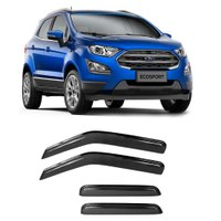Calha de Chuva Acrilica Adesiva Ford New EcoSport 2018 4 Portas