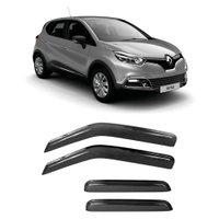 Calha de Chuva Acrilica Adesiva Renault Captur 2017 4 Portas