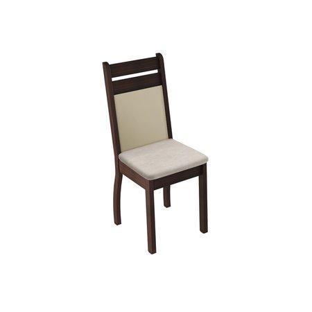 Kit 2 Cadeiras 4237 Madesa