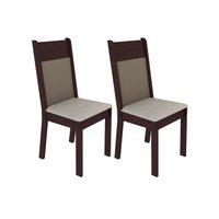 Kit 2 Cadeiras 4280 Madesa