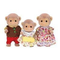 Familia dos Macacos Sylvanian Families - Epoch Magia