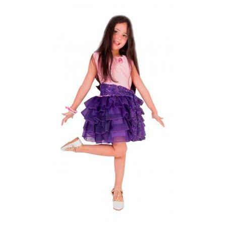 Fantasia Violetta e Acessório - Rubies