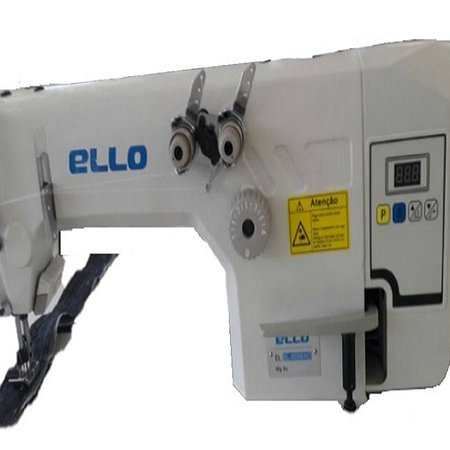 Máquina de Costura 2 Agulhas, Ponto Corrente Type Ombro a Ombro, 4000ppm EL-8558WD
