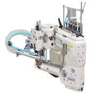 Máquina Flat Seammer equipada c/ refilador, 4 Agulhas CSN1-4500-12MR/SM-2F