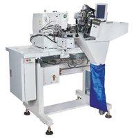 Máquina Travete Automática de Aplicar Passantes 2 Agulhas ELLO EL-T254-ZD