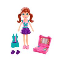 Polly Pocket Festa no Jardim Lila - Mattel