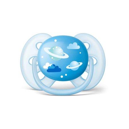 Chupeta Ultra Soft 6-18 Meses Espaço Azul - Philips Avent