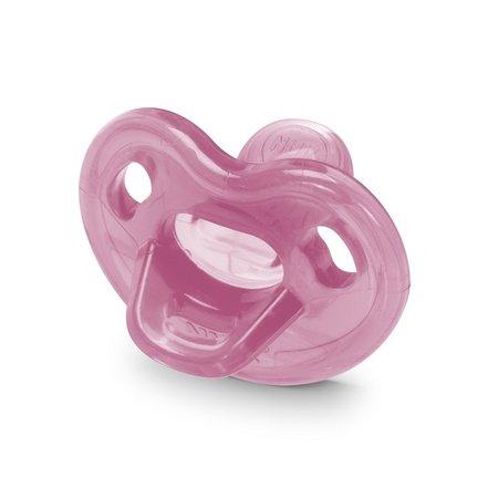 Chupeta Genius Soft 100% Silicone Rosa PA73011G - Nuk