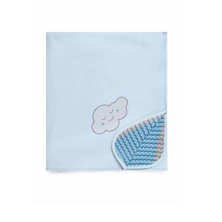 Manta de Soft Pedacinho do Céu Azul - Hug