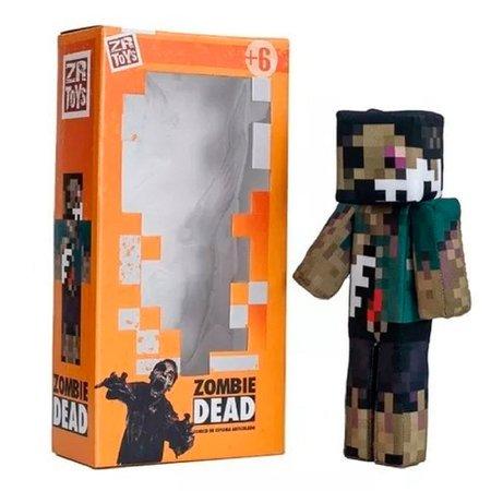 Boneco Zombie Dead Mob - ZR Toys