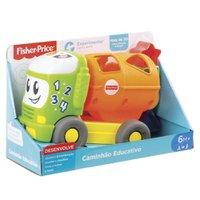 Fisher Price Caminhão Figuras e Aprendizagem - Mattel