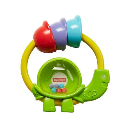 Fisher Price Chocalho Mordedor Tartaruga - Mattel