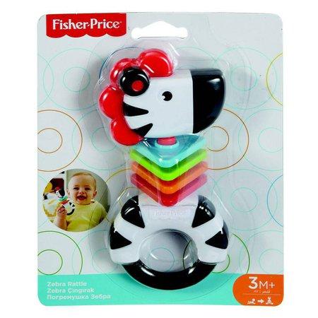 Fisher Price Chocalho Mordedor Zebrinha - Mattel