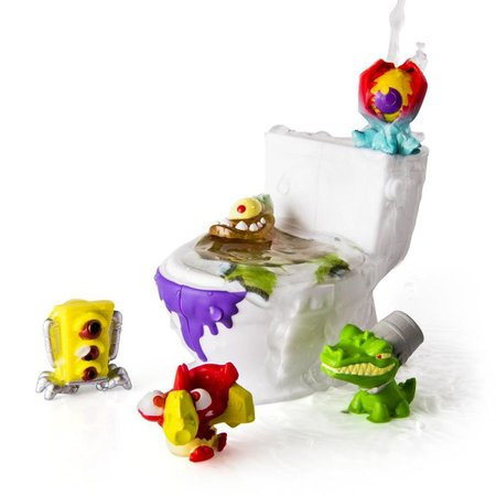 Flush Force Pack com 5 Figuras - Sunny