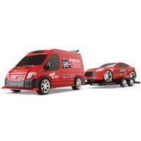 Supervan Racing Car Vermelho - Roma