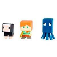 Minecraf - Pack com 3 Figuras - Série 10 - Mattel