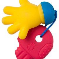 Mordedor e Chocalho Mãozinha com Chave - Toyster