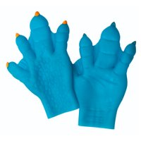 Luvas Horripilóides Mãos Tenebrosas Azul - Candide