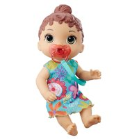 Boneca Baby Alive Bebê Primeiros Sons Morena - Hasbro