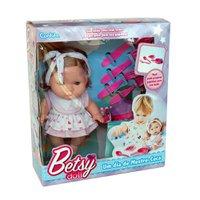 Boneca Betsy Doll Um Dia de Mestre Cuca Rosa - Candide