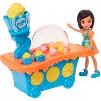 Polly Pocket Conjunto Carrinho de Pipoca Crissy - Mattel