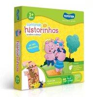 Quebra-Cabeça Contando Historinhas 3 Porquinhos 15 Peças - Toyster