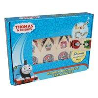 Thomas 2 em 1 Montando seu Trilho Madeira - Fun Divirta-se