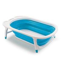 Banheira Portátil Dobrável Flexi Bath Azul - Multikids