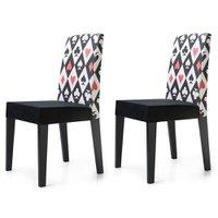 Cadeira Jantar Estampada 2 Unidades KING50E - King Móveis