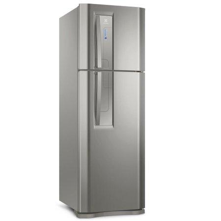 Refrigerador Electrolux Top Freezer 382L 2 Portas Frost Free Platinum