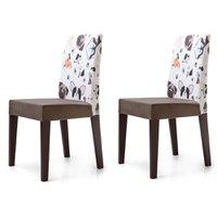 Cadeira Jantar Estampada Animais 2 Unidades KING50E - King Móveis