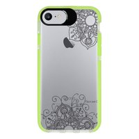 Capa Personalizada Intelimix Intelishock Verde Apple iPhone 7 - Mandala - TP255