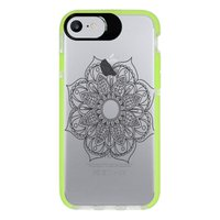 Capa Personalizada Intelimix Intelishock Verde Apple iPhone 7 - Mandala - TP260