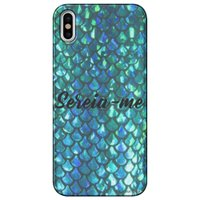 Capa Personalizada para Apple iPhone X - Sereia - TP303