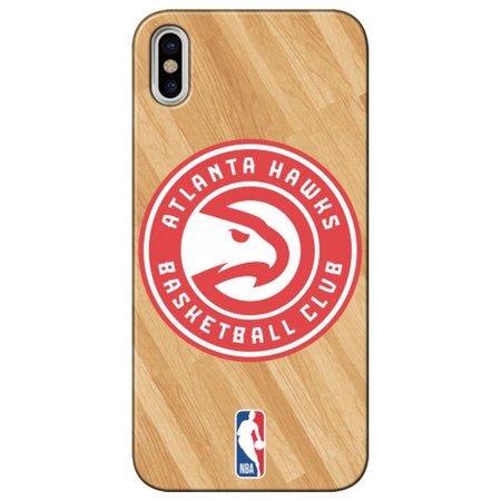 Capa para Celular - Apple iPhone X - Atlanta Hawks - B01