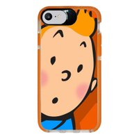 Capa Personalizada Intelimix Intelishock Laranja Apple iPhone 7 - Nostalgia - NT80