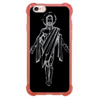 Capa Intelimix Anti-Impacto Rosa Apple iPhone 6 6s Religião - RE20
