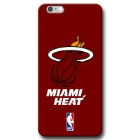 Capa de Celular NBA - Iphone 6 Plus 6S Plus - Miami Heat - A19