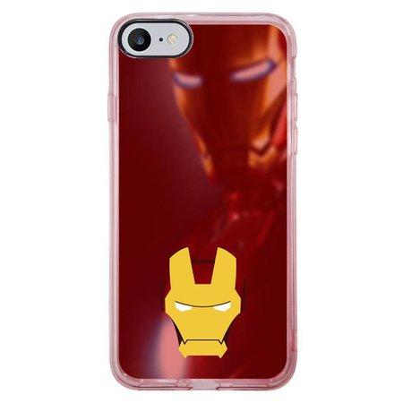Capa Intelimix Intelislim Rosa Apple iPhone 7 Super Heróis - SH04