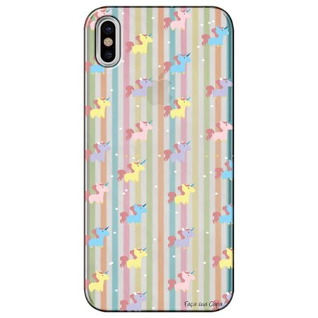 Capa Personalizada para Apple iPhone X - Unicórnios - TP310