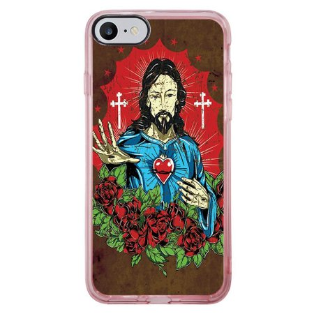 Capa Intelimix Intelislim Rosa Apple iPhone 7 Religião - RE21