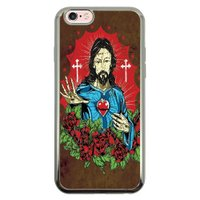 Capa Intelimix Intelislim Prata Apple iPhone 6 6s Religião - RE21