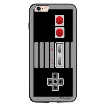 Capa My Capa Preta Apple iPhone 6 6s Games - GA66