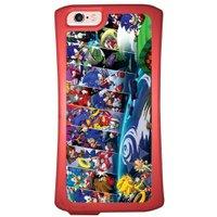 Capa Intelimix Velozz Coral Apple iPhone 6 6S Games - GA34