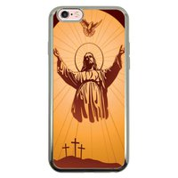 Capa Intelimix Intelislim Prata Apple iPhone 6 6s Religião - RE18