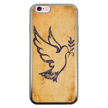 Capa Intelimix Intelislim Prata Apple iPhone 6 6s Religião - RE17