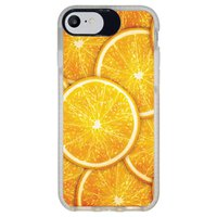 Capa Personalizada Intelimix Intelishock Branca Apple iPhone 7 - Laranja - TX14