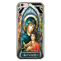 Capa Intelimix Intelislim Prata Apple iPhone 6 6s Religião - RE15