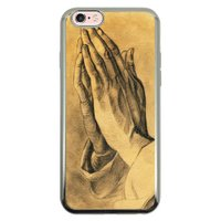 Capa Intelimix Intelislim Prata Apple iPhone 6 6s Religião - RE16
